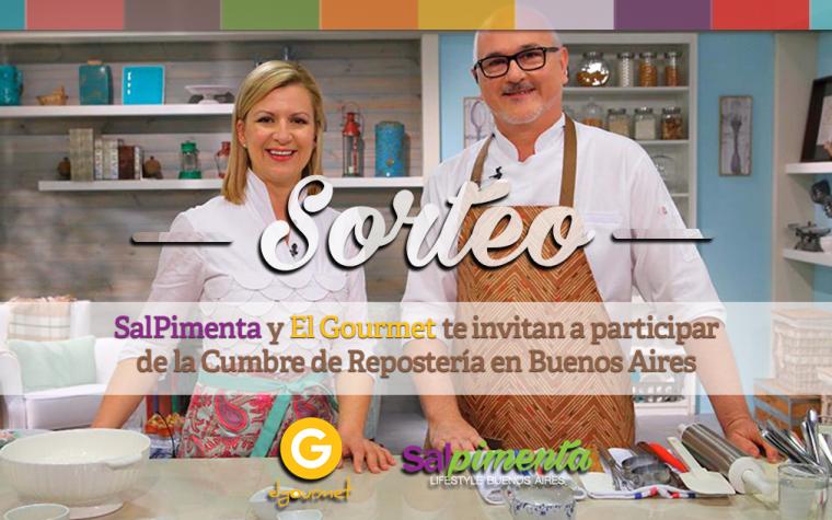 SalPimenta y El Gourmet te invitan a la Cumbre de Repostería