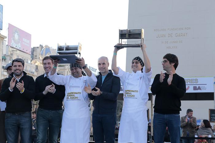 Parrilleros de Rosario fueron los ganadores del Campeonato del Asado