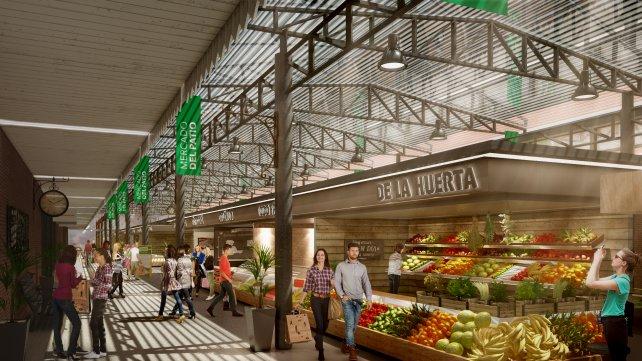 """Se inauguró en Rosario el ambicioso paseo gastronómico """"Mercado del Patio"""""""