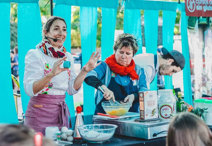 Feria SIN TACC: clases de cocina y talleres gratuitos para este fin de semana