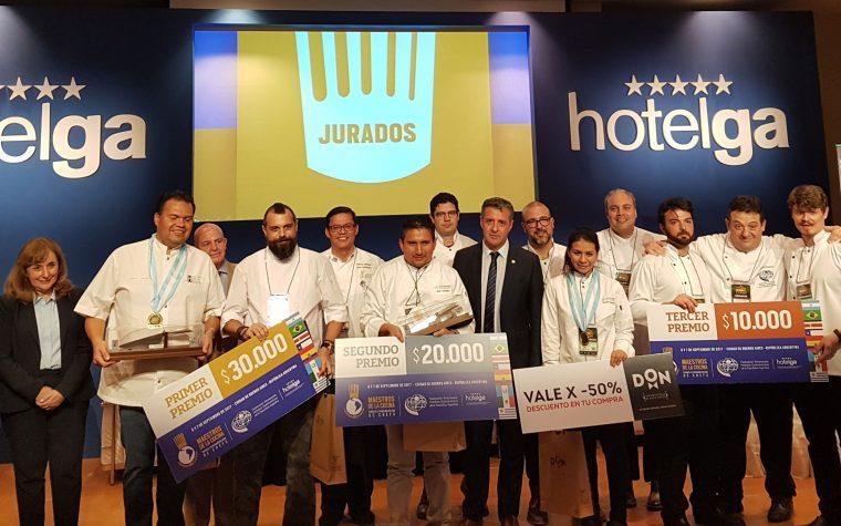 El primer Torneo Latinoamericano de Chefs ya tiene ganador