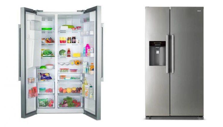 RCA lanza una heladera SidebySide con dispenser y máquina de hielo