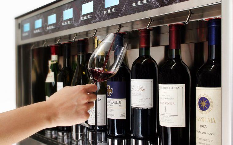Llega a Argentina el mejor dispensador de vino por copa