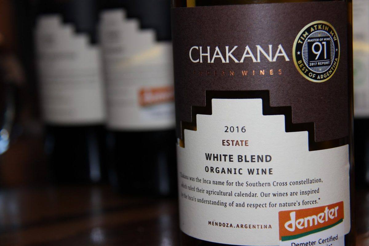 Chakana Wines presenta orgulloso su certificación biodinámica