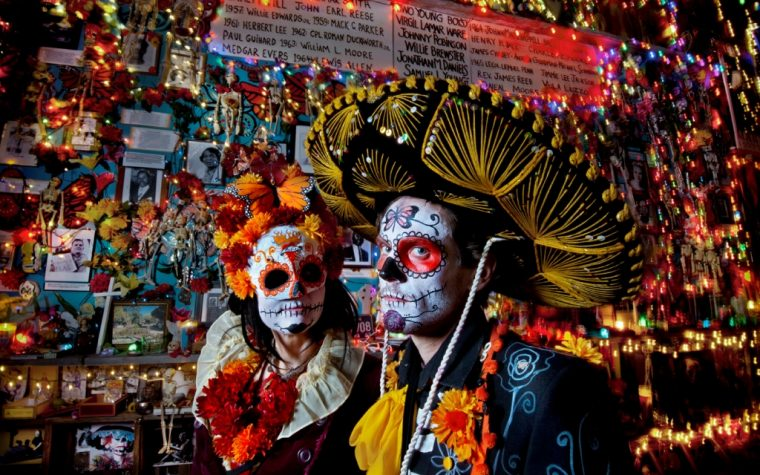 El Día de los Muertos se celebra en San Telmo