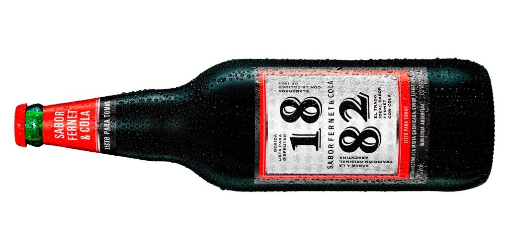Nuevo Fernet 1882, práctico y listo para beber