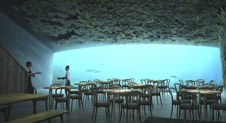 Noruega tendrá el primer restaurante submarino de Europa