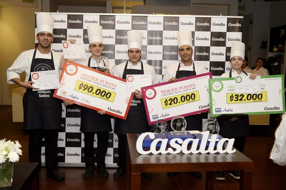 Conocé a los ganadores del concurso Casalta Cocina