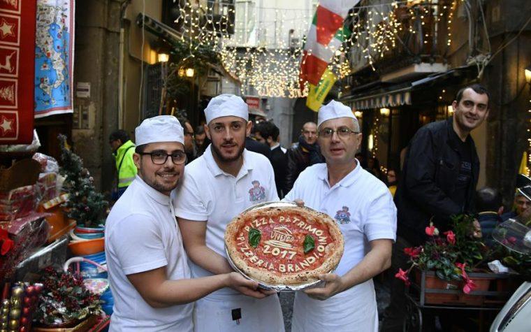 La pizza napolitana es Patrimonio de la Humanidad