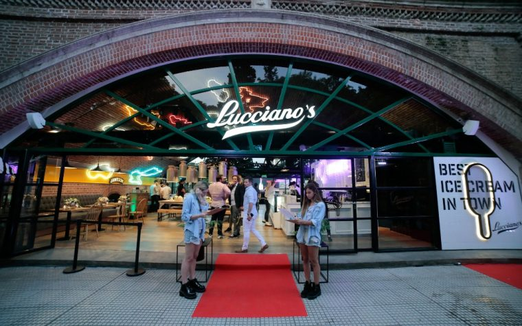 Lucciano's inauguró un nuevo local en los Arcos del Rosedal