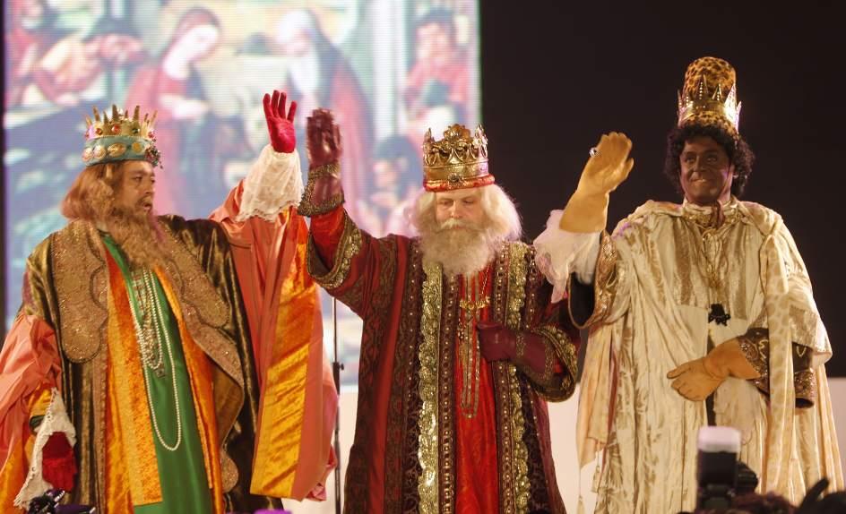 Los Reyes Magos recorren los bares notables