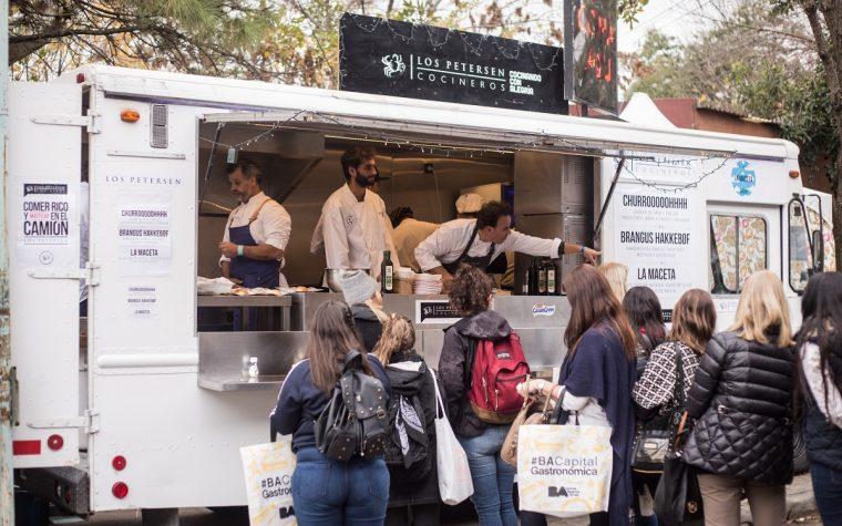 Vía libre para los food trucks en Buenos Aires