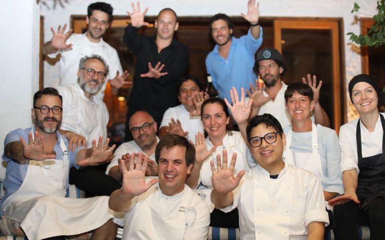"""El ciclo culinario """"A 10 manos"""" inauguró en Punta del Este el año"""