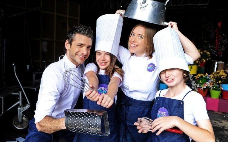 """Llega a la pantalla chica """"Morfi Kids"""", con los chicos a la cocina"""