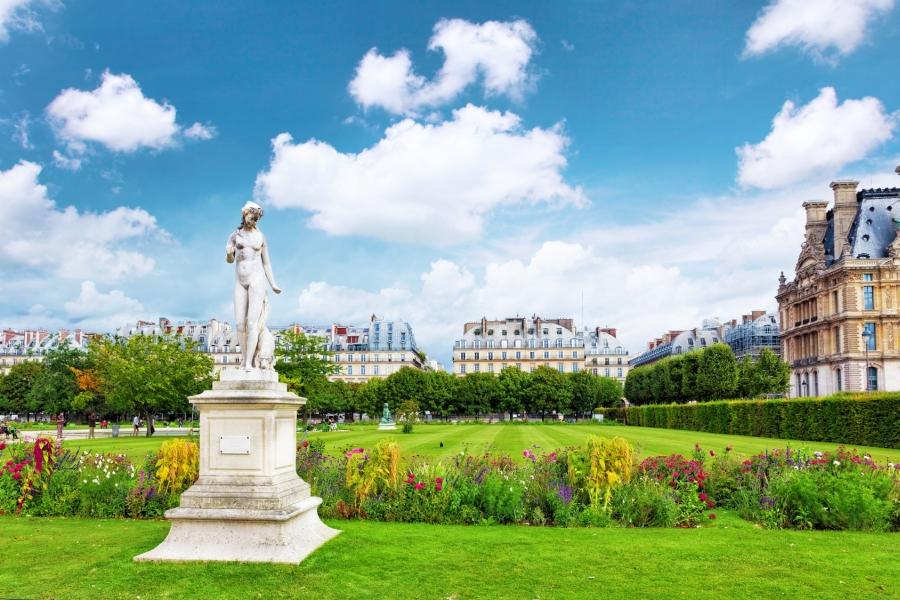 Chanel plantará flores en el Jardín de las Tullerías en París