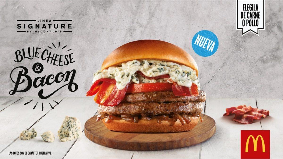 Blue Cheese & Bacon: lo nuevo de Mc Donalds