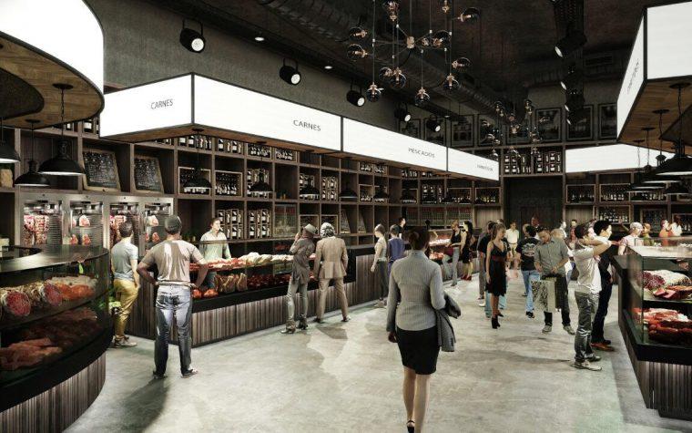 Avanza la construcción del Mercado de los Carruajes, el primer mercado gourmet de Buenos Aires
