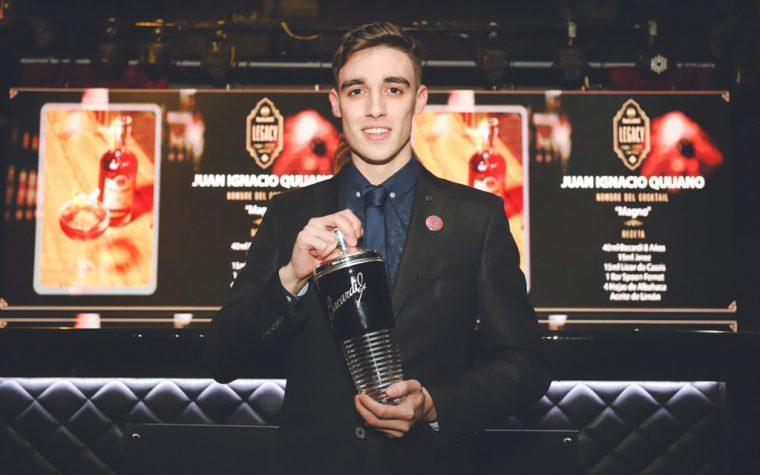 Conocé al ganador argentino del Bacardí Legacy Cocktail Competiton 2018