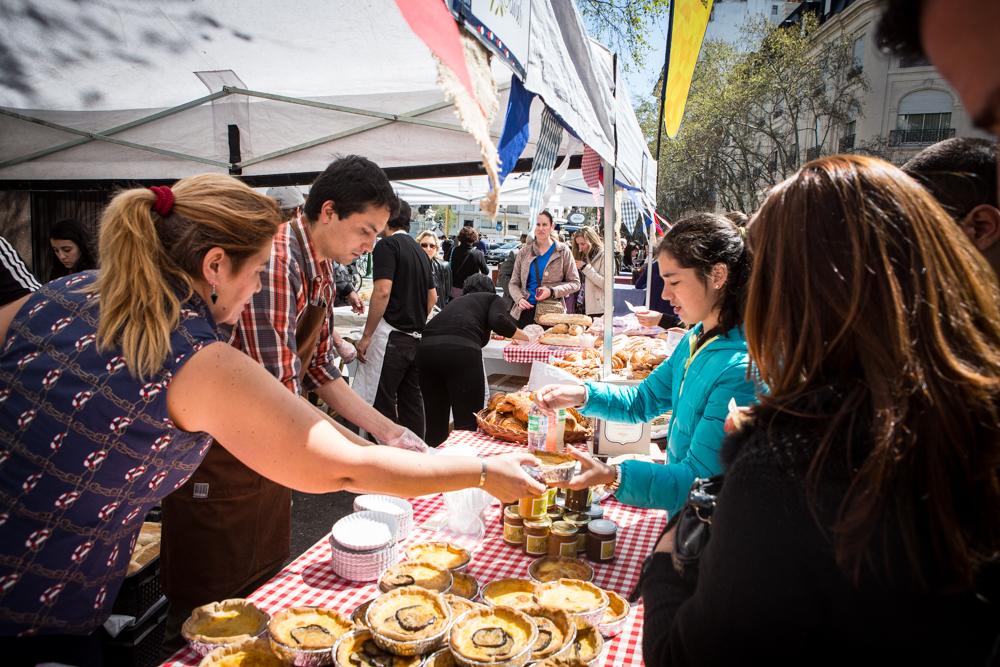 Le Marché, la gran feria de cocina francesa, este finde en Plaza Francia