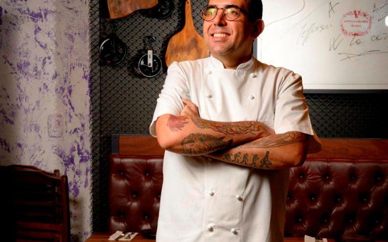 Jefferson Rueda, el chef experto en cerdo de Brasil, cocina en La Carnicería