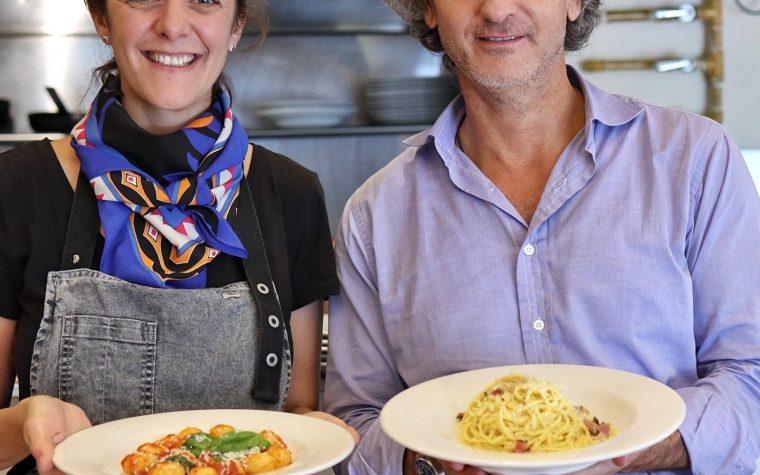 Pablo Massey invita a Julieta Oriolo a su cocina