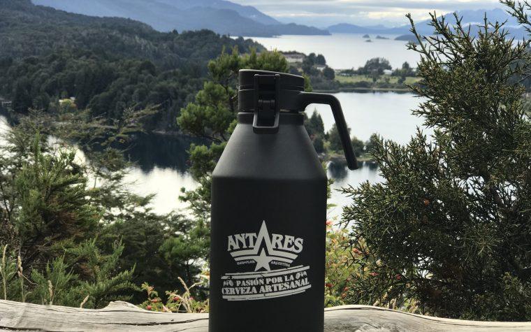 Vanguardia cervecera: Antares presentó su nuevo botellón de acero