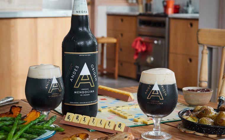 Llega Andes Origen: cerveza de montaña rubia, negra y roja