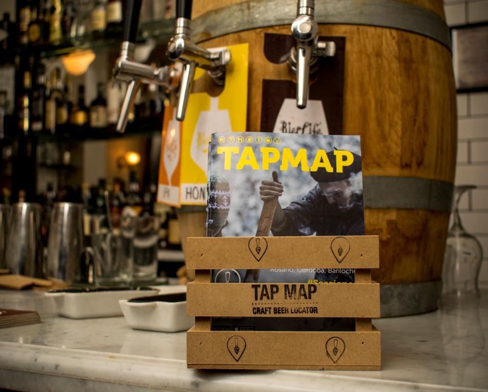 Se presentó la nueva edición de la guía cervecera Tap Map