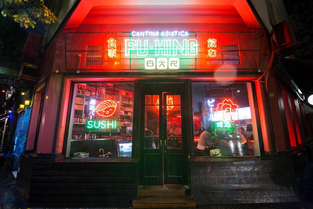 Fu-King Bar: ramen y neón en la nueva cantina asiática de Palermo