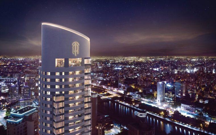 Avanza la construcción de la torre más alta y elegante de Argentina