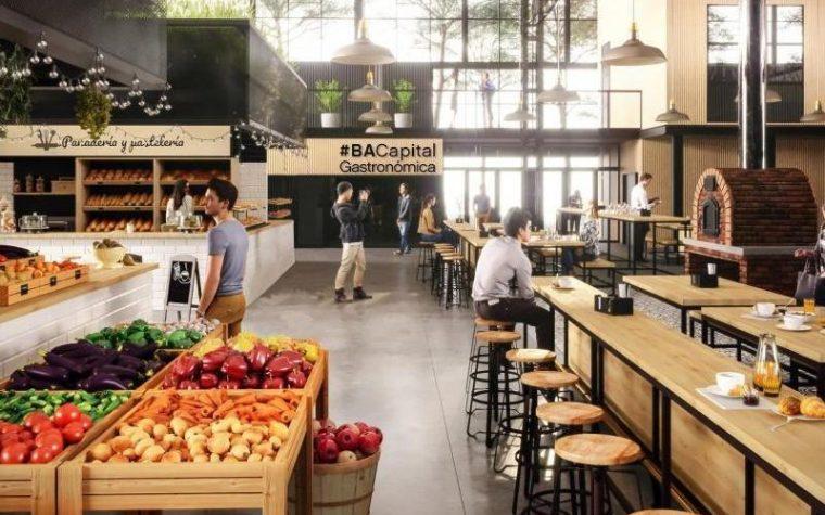 Construirán un gran mercado gastronómico en la Villa 31