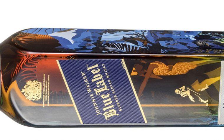 Johnnie Walker Blue celebra a Argentina con una botella especial