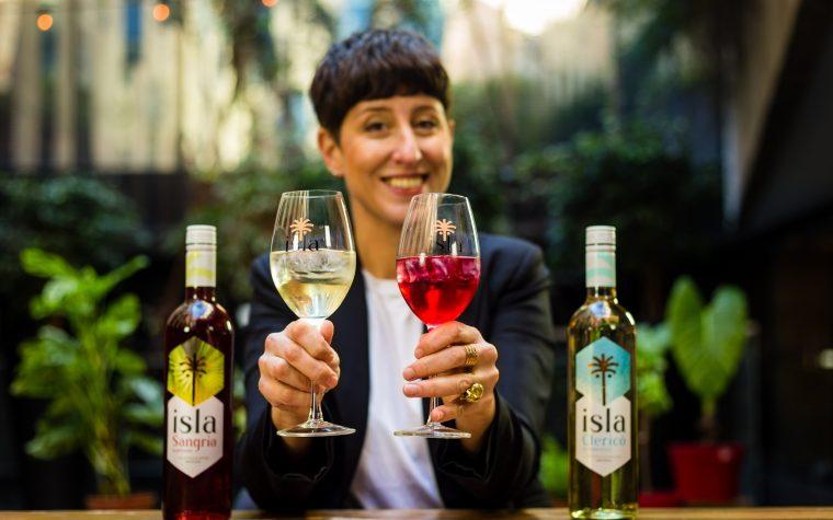 """Inés de los Santos presenta """"Isla"""", su línea de bebidas alcohólicas"""