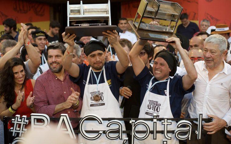 Chubut se convirtió en la provincia ganadora del Campeonato del Asado