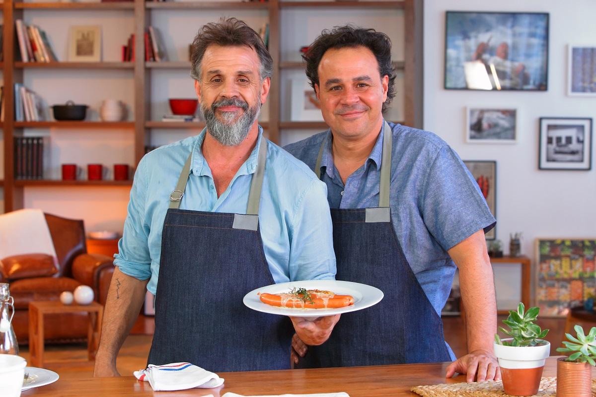Los Petersen, ganadores del Martín Fierro de cable al mejor programa culinario
