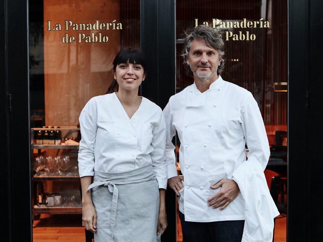 Felicitas Pizarro cocina en La Panadería de Pablo