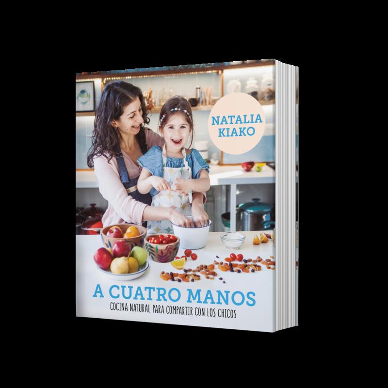 """""""A cuatro manos"""": un nuevo libro de cocina para compartir con niños y niñas"""