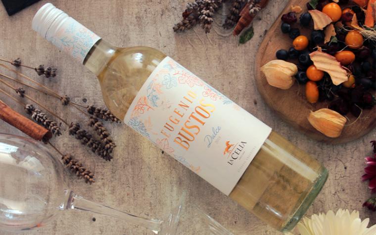 Finca La Celia presentó Eugenio Bustos Dulce, su nuevo vino blanco dulce