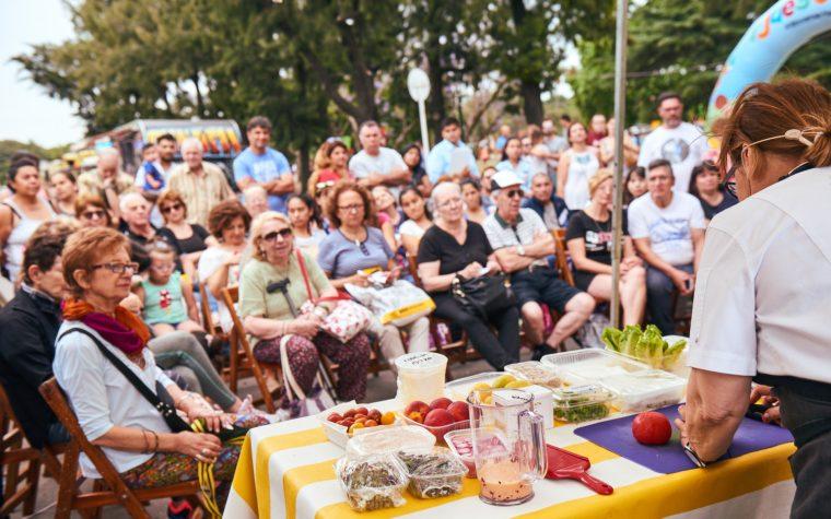 Cocina saludable, mercados y gimnasia en el Festival Ciudad Activa