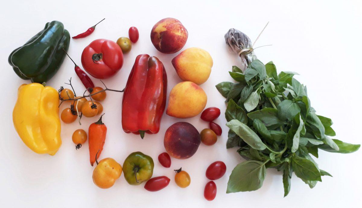 Tomates, albahaca y durazno, los ingredientes de la M.E.S.A. de Verano