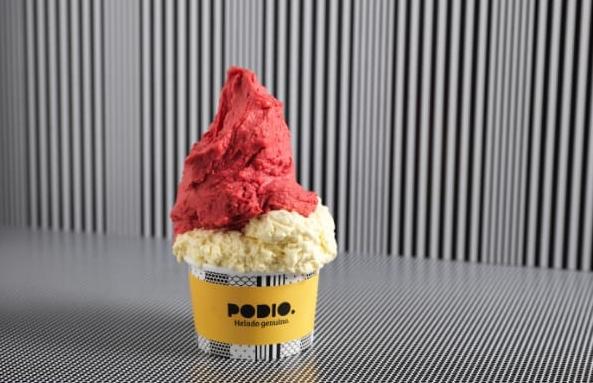 Podio, la marca de helados genuinos apuesta por los sabores frutales
